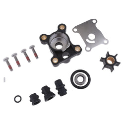 Water pump kit impeller & housing & gasket for 9.9 15 hp Johnson Evinrude outboard