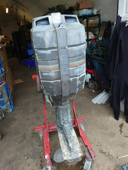 Mariner Mercury outboard 90hp 2 stroke oil injection mid '80 for parts