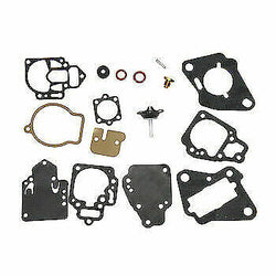 Carburettor Gasket Kit for Mercury Mariner 6,8,9.9,10,15,18, 20, 25HP 2-Stroke Outboard, 1395-97611