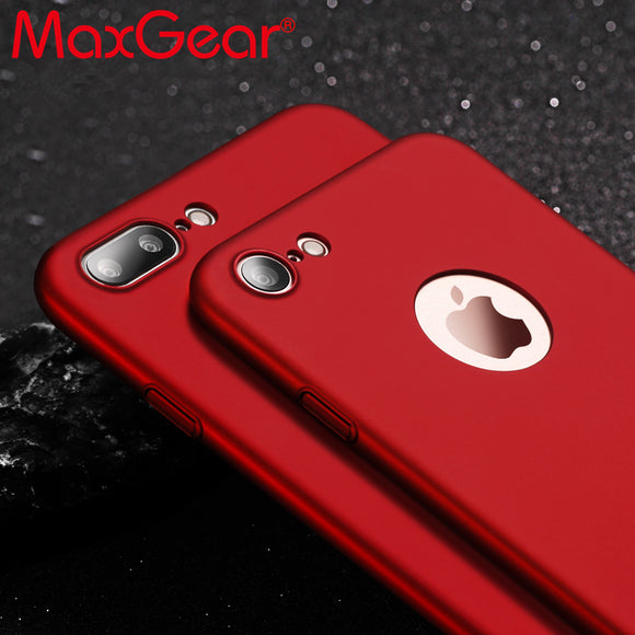MaxGear Ultra thin Slim Matte Full Protection Phone Case for iphone