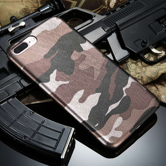 Army Camo Camouflage Case For iPhone (Leather and Plastic)