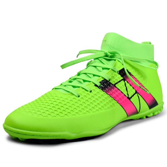 Indoor futsal soccer boots sneakers with ankle Top