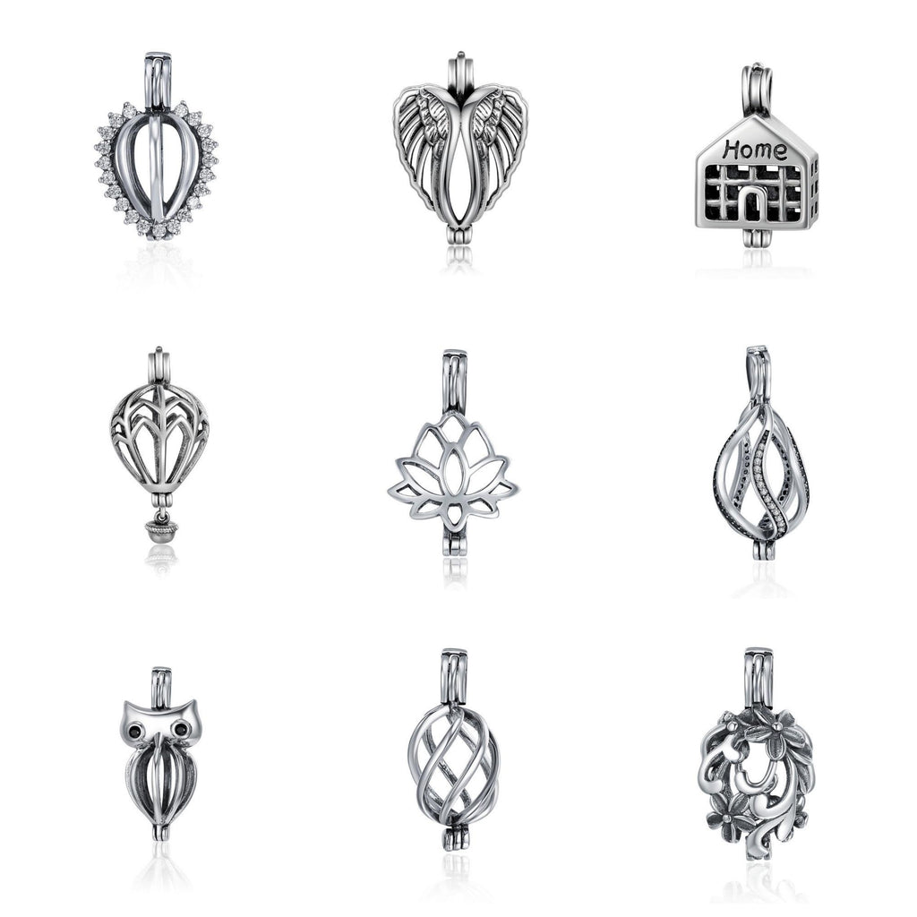 925 Sterling Silver Lockets - Range of Styles