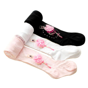 Ballet feature stockings/tights for infant to todder
