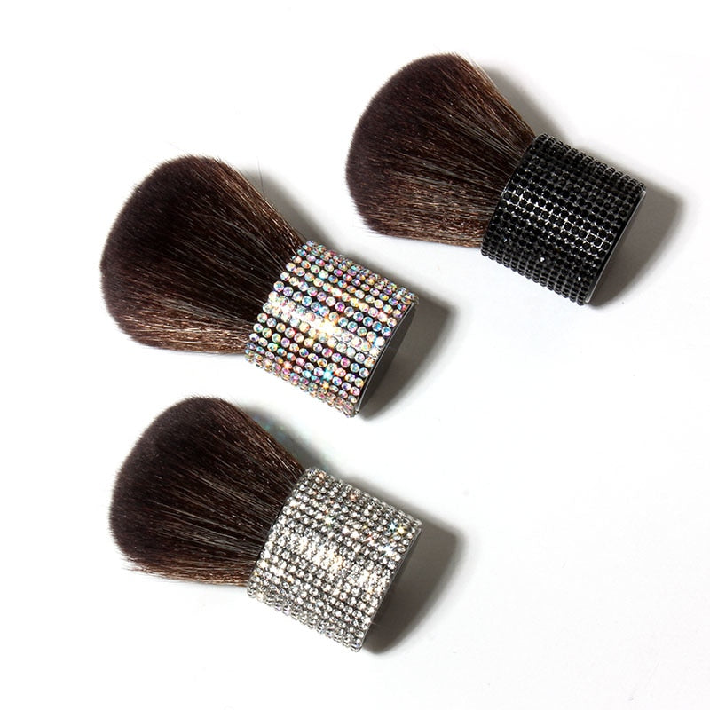 Bling Makeup brush with holder