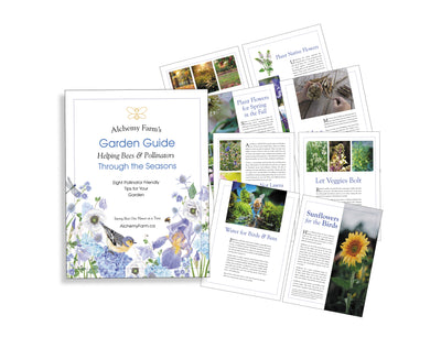Free: 8 Pollinator Friendly Tips Guide