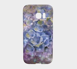 Hydrangea iPhone and Samsung Case