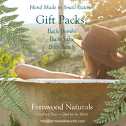 Add on to your Mother's Day Flowers: Luscious Fernwood Naturals, Pamper Gift Pack, Handcrafted at Alchemy Farm
