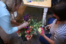 Fresh Flower Art Jewellery Group Workshop at Alchemy Farm ~ Gift Certificate Available