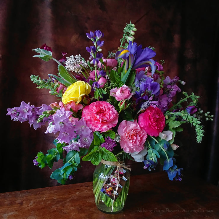 Deluxe Seasonal Flower Arrangement
