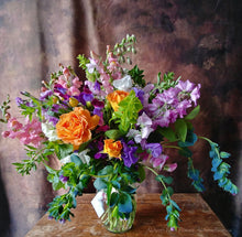 Superb Deluxe Seasonal Flower Arrangement