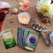 Alchemy Flower Oracle Intuitive Group Workshop - Includes an Alchemy Flower Oracle Deck