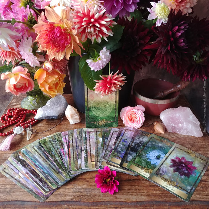 Alchemy Flower Oracle Intuitive Group Workshop at Alchemy Farm - Includes an Alchemy Flower Oracle Deck ~ Gift Certificate Available