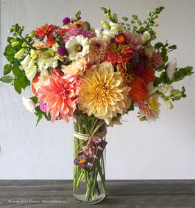 The Luscious Seasonal Flower Arrangement