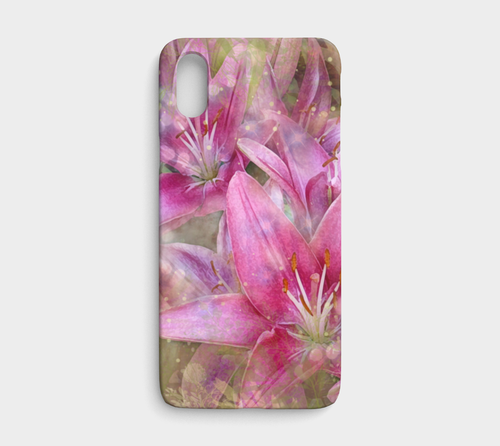 Lily iPhone and Samsung Case