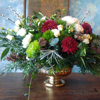 Deluxe Christmas Centrepieces ~ Each One Lush and Unique