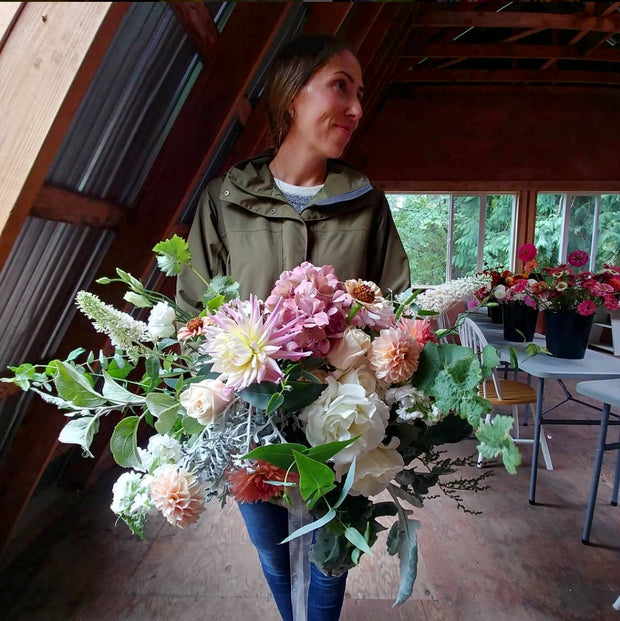 Private Flower One-to-One With Ingrid at Alchemy Farm