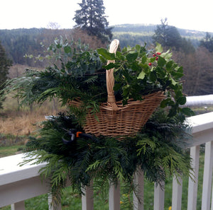 Winter Wreath Making with Willow and Natural Materials at Alchemy Farm - December 8