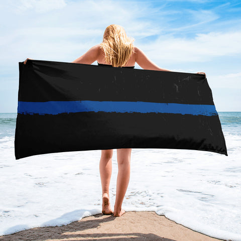 Thin Blue Line Towel