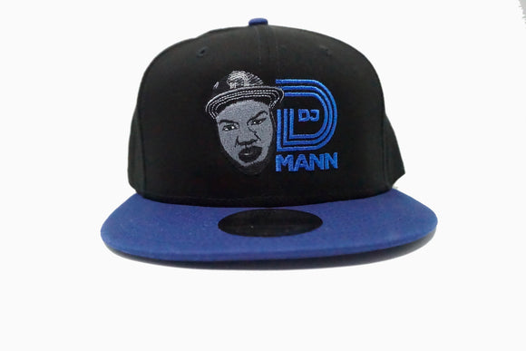 DJ DMann Snapback-Royal Blue