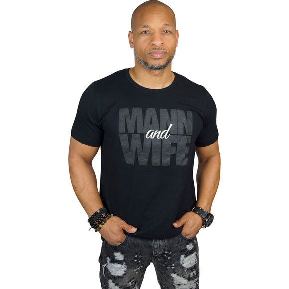 Mann & Wife T-Shirt (Black)