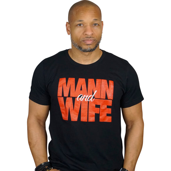 Mann & Wife T-Shirt (Red)