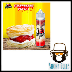 I VG Desserts Strawberry Pastry Shortfill 50ml E Liquid