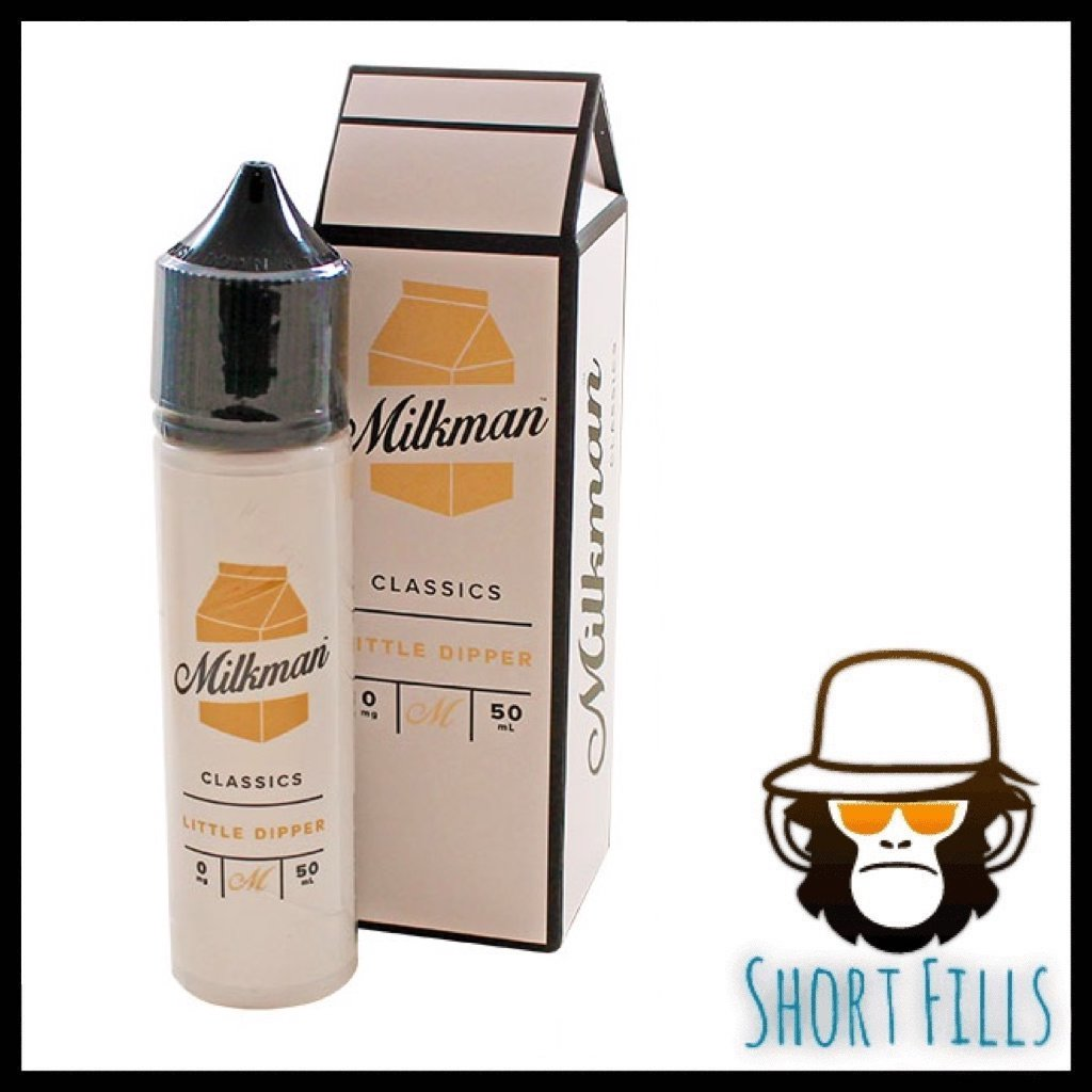 Milkman Little Dipper Short Fill 50ml E Liquid Bottle