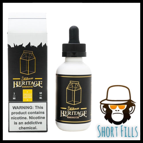 Milkman Heritage Smooth Short Fill 50ml E Liquid Bottle
