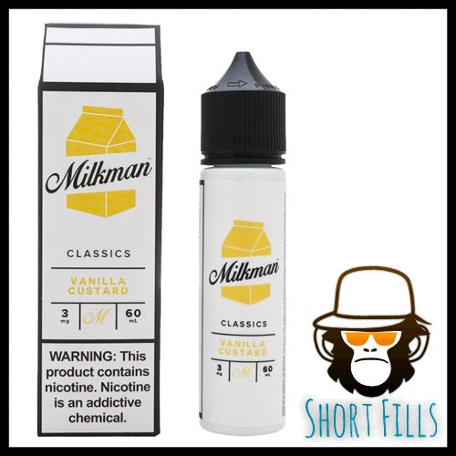 Milkman Vanilla Custard Short Fill 50ml E Liquid Bottle