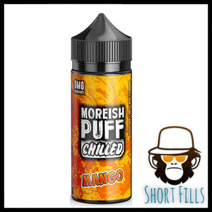 Moreish Puff Chilled Mango 100ml Short Fill E Liquid