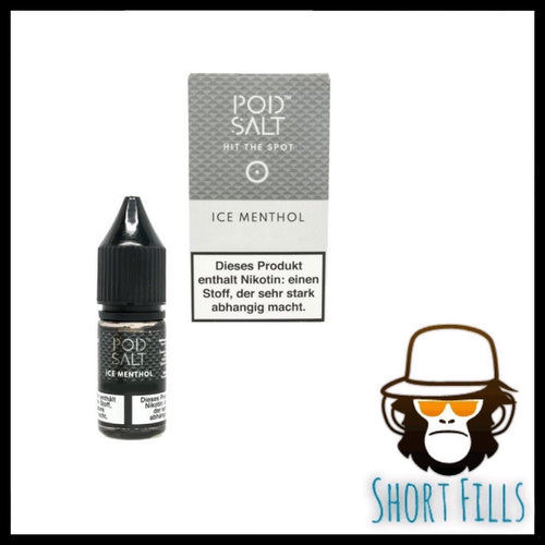Pod Salt Ice Menthol 10ml High Nicotine 36mg Shot