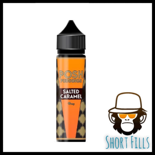 Posh Puddings Salted Caramel 50ml Short Fill E Liquid