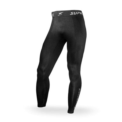 Supacore Men's Seamless Body Mapped Power Running Compression Tights
