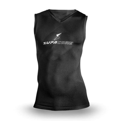 Supacore Unisex Supa X Sleeveless Body Mapped Compression Top