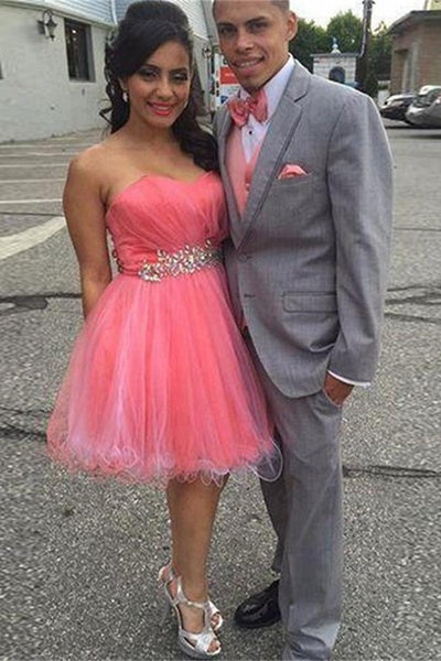 Short Colorful Homecoming Dresses