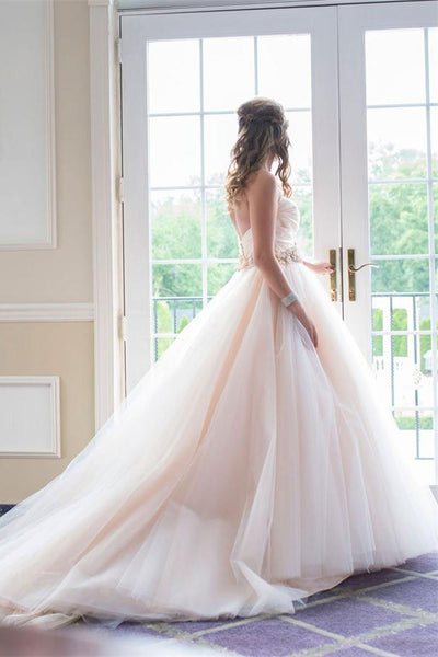 Charming Sweep Train Ball Gown Sweetheart Quinceanera Dresses Prom Dresses Z0762