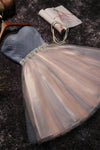 Pretty Blue And Pink Short Sweetheart Homecoming Dresses For Teens Z1097