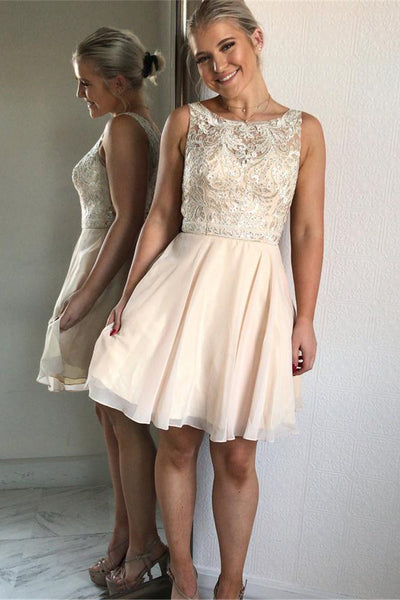 Charming Simple Cheap Elegant Lace Short Homecoming Dresses For Teens Z1188