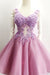 Beautiful V-neck Elegant Short Homecoming Dresses Cocktail Dresses Z1369