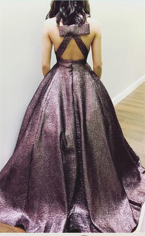 Modest Long Open Back Prom Dresses For Teens Pretty Party Dresses Z1601