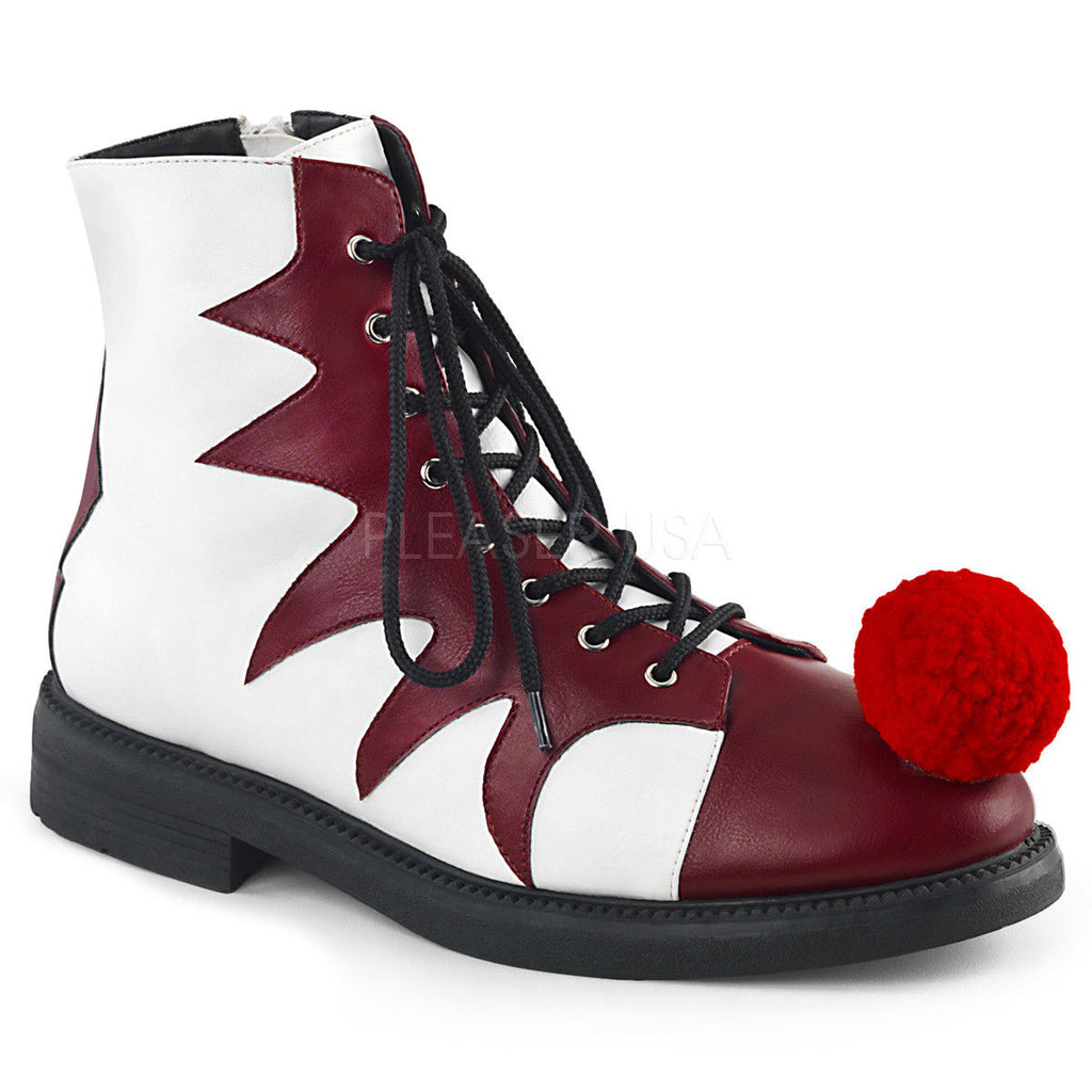 FUNTASMA It-100 Men's Unisex It Pennywise Inspired Clown Costume Halloween Shoes - A Shoe Addiction