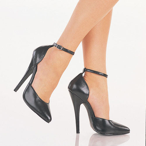 "DEVIOUS Domina-402 Sexy Fetish Leather Dress Formal Drag 6"" Heels Women's 4-15 - A Shoe Addiction"