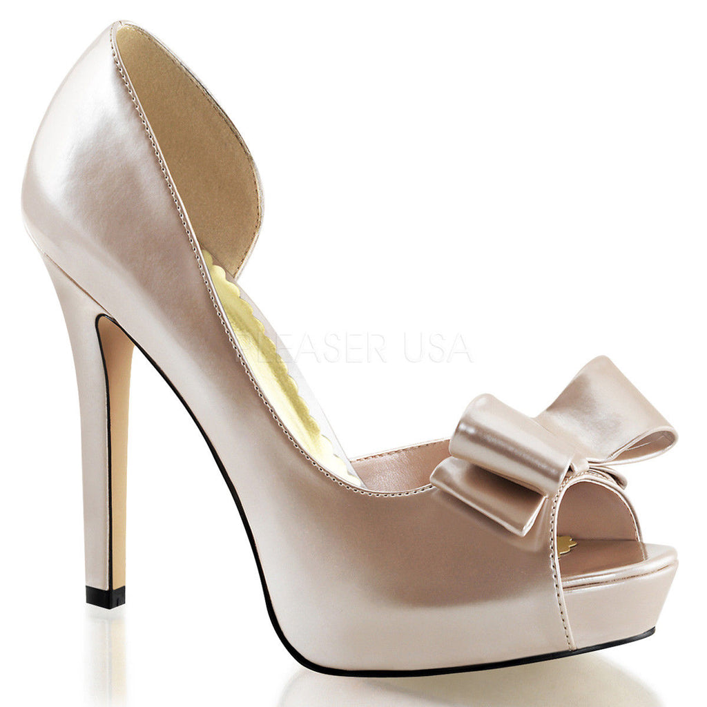 Discontinued FABULICIOUS Lumina-32 Champagne Party Dress Formal Wedding Heels - A Shoe Addiction