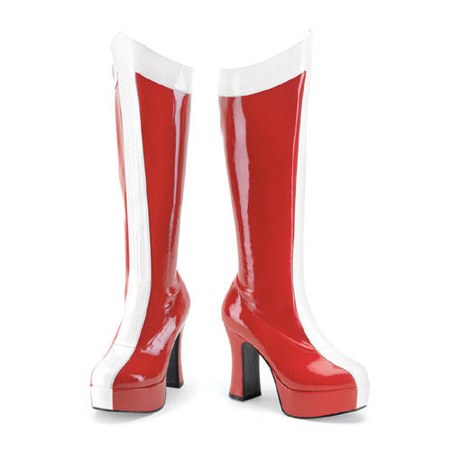 Discontinued FUNTASMA Exotica-305 Wonder Woman Super Hero Cosplay Costume Boots - A Shoe Addiction
