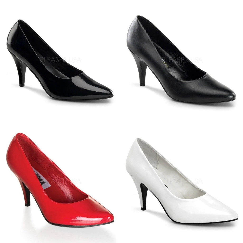 "FUNTASMA Pump-420 Black Red White Cosplay Work Dress Pumps 3"" Heels SIZE 5-13 - A Shoe Addiction"