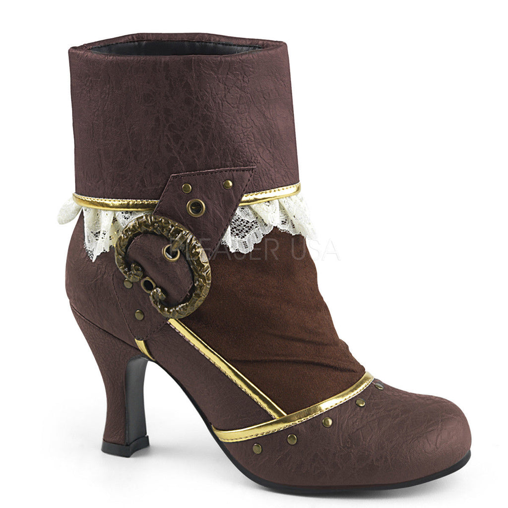 FUNTASMA Matey-115 Costume Halloween Dress Up Steampunk Pirate Victorian Boots - A Shoe Addiction