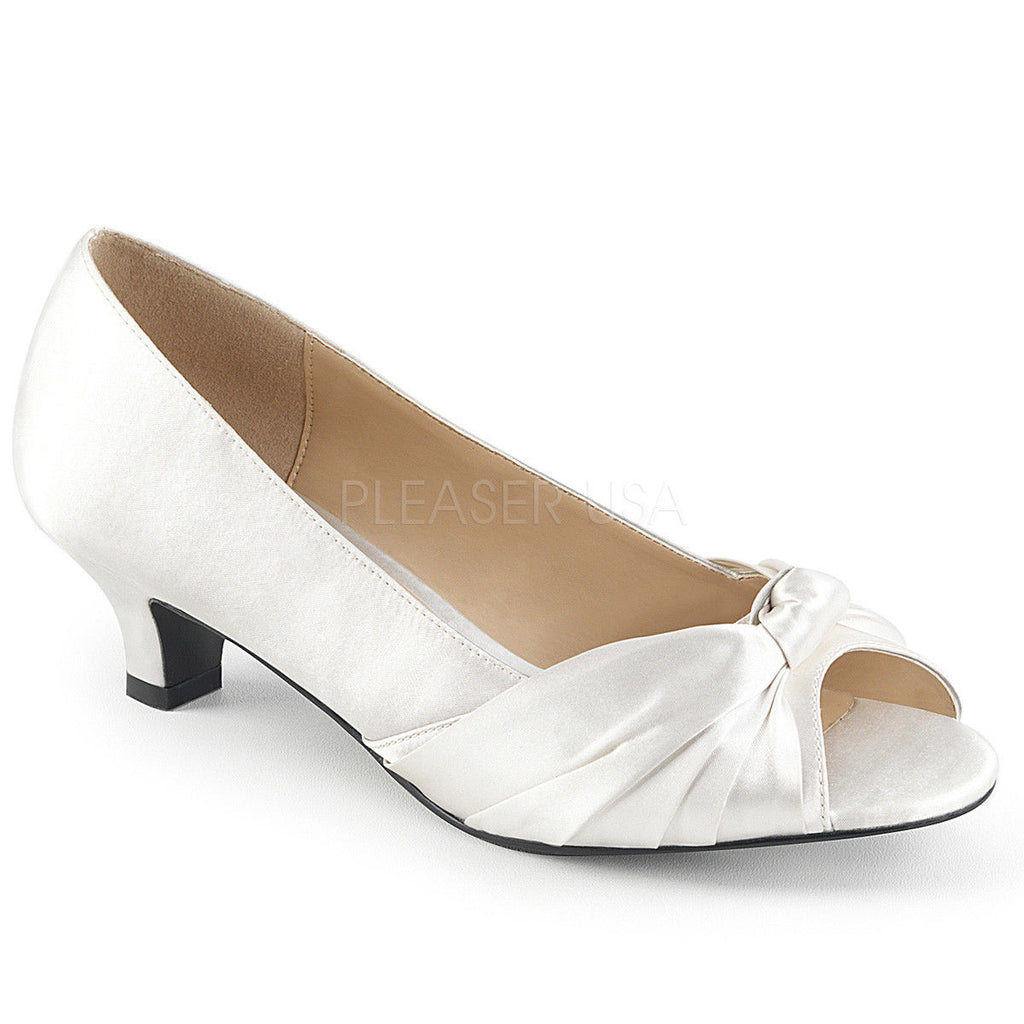 "Discontinued PLEASER PINK LABEL Fab-422 Dress Wedding 2"" Heels Drag Women's 8-15 - A Shoe Addiction"
