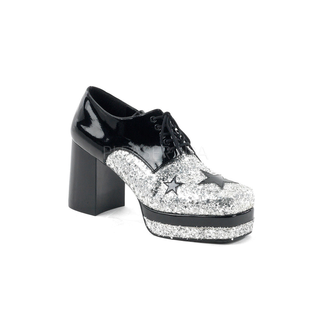 0767a09b7e79 FUNTASMA Glamrock-02 Men s 80 s Jazz Stage Broadway Disco Pimp Costume Shoes