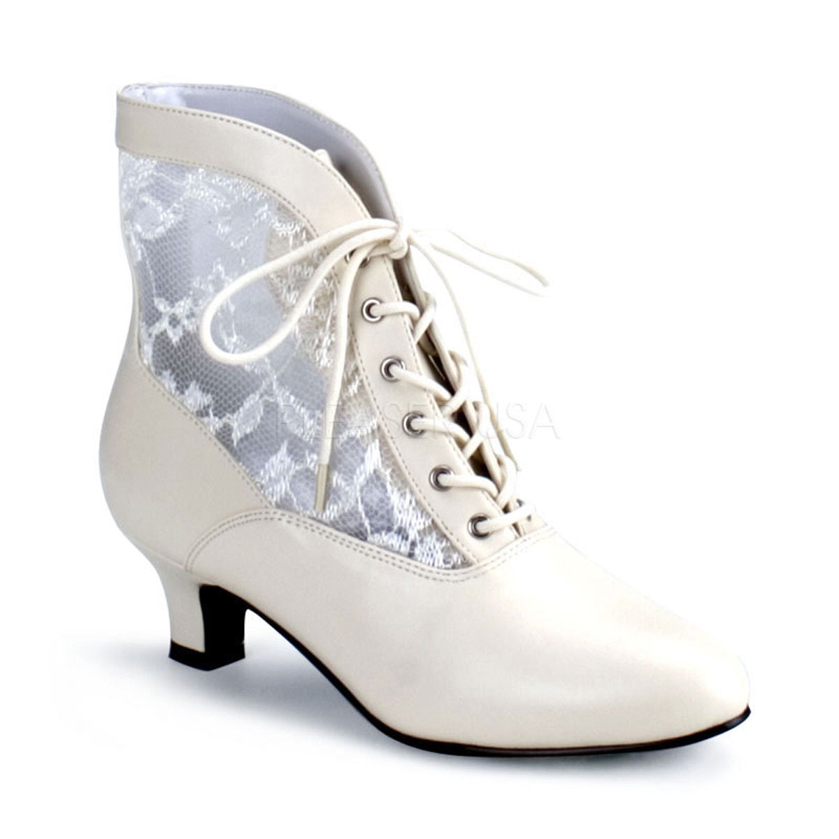 330012c58fe FUNTASMA Dame-05 Black Gold Ivory Victorian Goth Costume Halloween Ankle  Boots